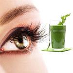 Pietruszka na wzmocnienie oczu