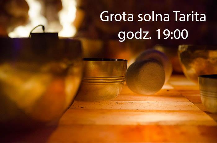 koncerty w grocie solnej tarita